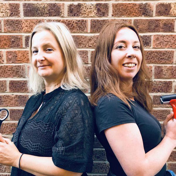 Thread and Press founders Sarah Rands and Holly Davis