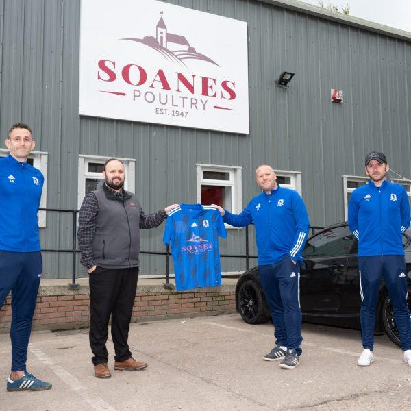 Soanes Poultry sponsor Middleton Rovers FC