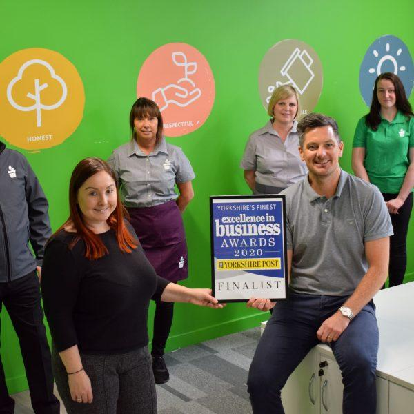 Client Tong Garden Centre has reached the final of the Yorkshire Post Excellence in Business Awards