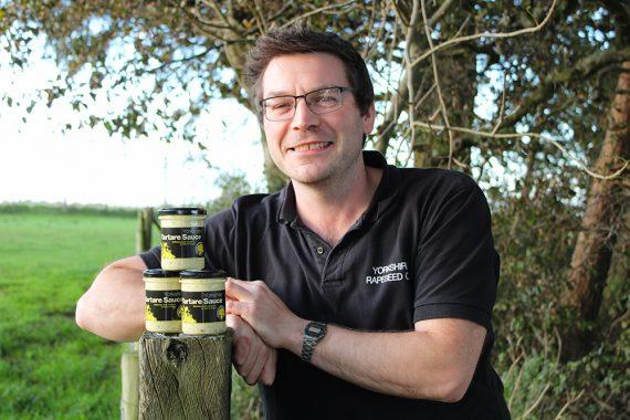 New product development from Jason Thompson at Yorkshire Rapeseed Oil