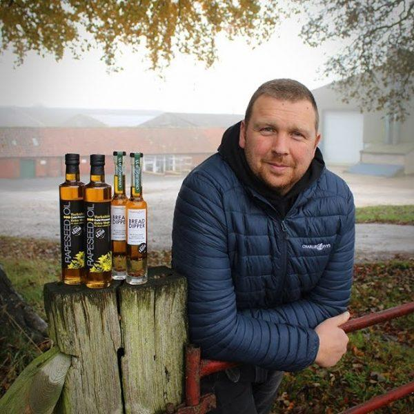 Adam Palmer from Yorkshire Rapeseed Oil