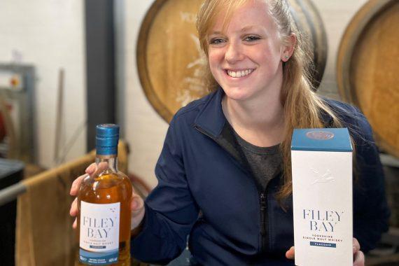 Filey Bay Flagship single malt whisky
