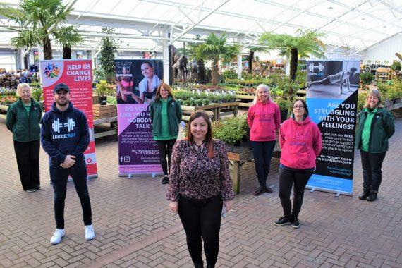 The team at Tong is fundraising for mental health charities